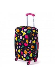 Joytour Stretchable Elastic Travel Luggage Suitcase Protective Cover- Polygon Design