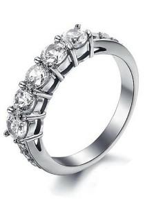 Vivere Rosse Timeless Eternity Ring (Silver) JR0013