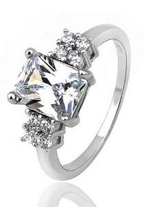 Vivere Rosse Trilogy Ring (Silver) JR0016