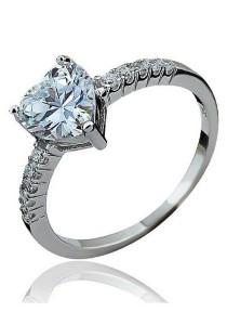 Vivere Rosse Romance Ring (Silver) JR0018