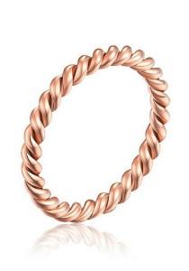 Vivere Rosse Modern Thin Ring (Rose Gold) JR0021