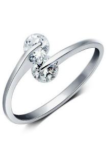 Vivere Rosse Derella Ring (Silver) JR0026