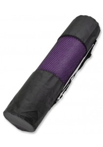 Fitness Non-Slip Yoga Mat 6mm With Carrying Bag (Purple)