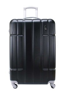 "Jean Francois JTH5926 20"" Hard Case Luggage 4 Wheels Spinner (Black)"