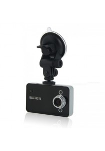 "K6000 2.4"" LCD HD 1080P IR Night Vision Blackbox Car DVR Video Recorder G-sensor (Black)"