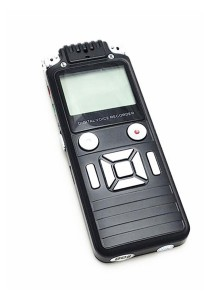 K7 Portable Digital Voice Recorder 8GB Black