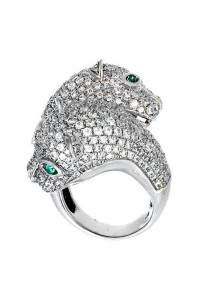Kabell Leopard Ring