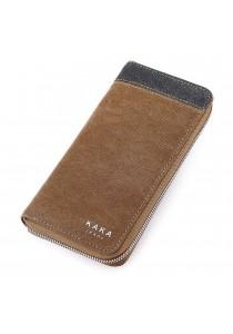 KAKA Premium 9998 Long Wallet (Brown)