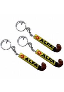 Alfa Hockey Stick Keychains (1 X 3)