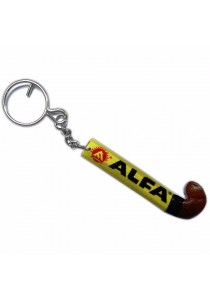 Alfa Hockey Stick Keychains