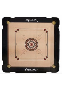 Commander Carrom Board (12mm plywood, Frame Size:930 X 930 X 40mm)
