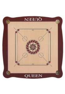 Queen Carrom Board (6mm plywood,Frame Size:885 X 885 X 38mm)