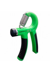 Cima Portable Adjustable Hand Grip Straining Training 666 10kg to 40kg (Green)