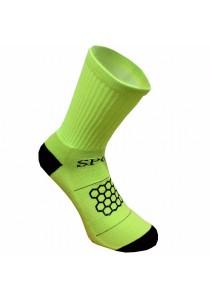 Double Anti-slip with Honeycomb Pattern Nylon Football Socks (Neon)