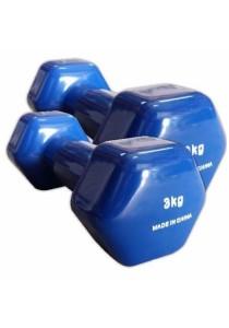 Dumbbell 6 KG ( 2 X 3 KG) (Blue)