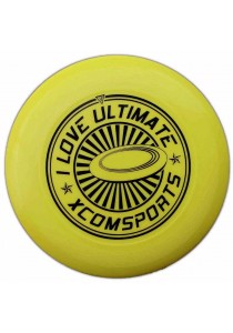 Porfessional Ultimate 175g Frisbee Flying Training Disc (Yellow)