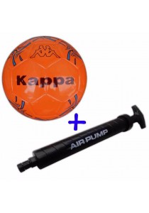Kappa Futsal Ball KG3NL023 with Double Action Hand Pump (Orange)