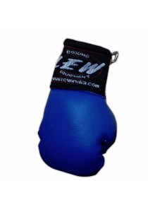 LEW Mini Boxing Glove Keychains (Blue)