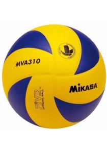 Mikasa MVA 310 Volleyball with a Needle and Carrying Net