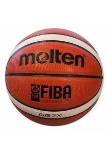 Molten Basketball GG7X with a Needle and Carrying Net