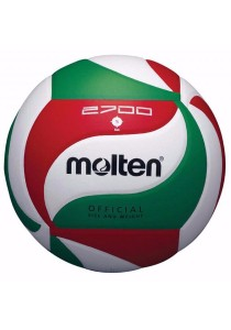 Molten V5M2700 Official Volleyball Synthetic Leather with a Needle and Carrying Net
