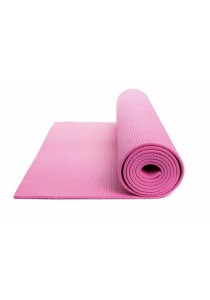 High Quality Non Slip Yoga Mat 6 MM with Bag (Pink)