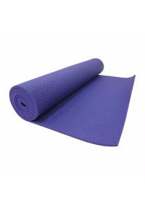 High Quality Non Slip Yoga Mat 8 MM with Bag (Purple)