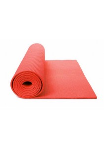 High Quality Non Slip Yoga Mat 8 MM with Bag (Red)