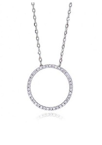 Kelvin Gems Premium Multiway Large Ring Pendant Necklace with SWAROVSKI Zirconia