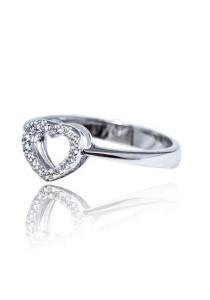 Kelvin Gems Premium My Heart Ring with SWAROVSKI Zirconia