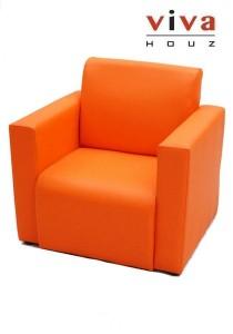 Viva Houz Kids Sofa (Orange)