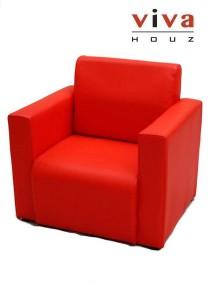 Viva Houz Kids Sofa (Red)