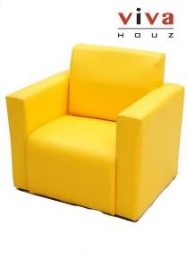 Viva Houz Kids Sofa (Yellow)