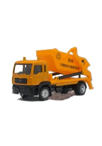 Affluent Town 1:64 Die-cast MAN Delivery DUMP Truck Forest Vehicle Model Collection (Yellow)