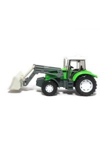 Affluent Town 1:64 die-Cast Farmer Loader Tractors constructor vehicle Model Collection (Green)