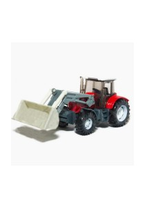 Affluent Town 1:64 Die-Cast Farmer Loader Tractors Constructor Vehicle Model Collection (Red)