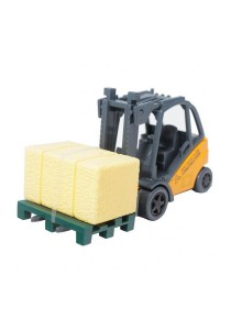 Affluent Town 1:64 Die-Cast Forklift Smith Express Yellow Color Model Collection