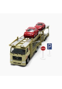 Affluent Town 1:64 Scale Die-cast Man Large Carrier Trailer (Green)