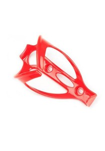 Drinking Water Bottle Holder Universal Plastic Portable Cage Bicycle (Red)