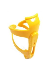 Drinking Water Bottle Holder Universal Plastic Portable Cage Bicycle (Yellow)