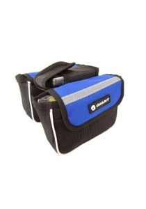 Giant Front Frame Bag Function Cycling Pouch Holder Universal Bicycle (Blue)