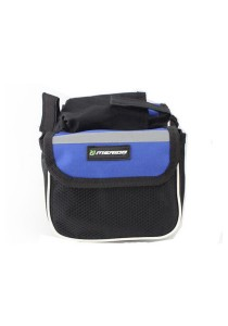 Merida Front Frame Bag Function Cycling Pouch Holder Universal Bicycle (Blue)