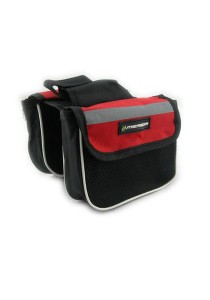 Merida Front Frame Bag Function Cycling Pouch Holder Universal Bicycle (Red)