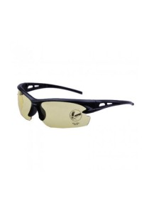 Sport Sun Glasses OULAIOU Eyewear HD Vision Anti Glare Bicycle (Yellow)