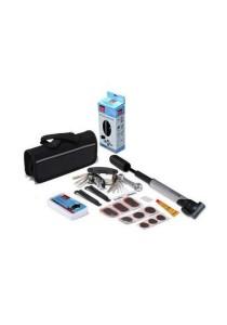 18-in-1 Bicycle Repair Tools Kit With Tube Bag (Black)