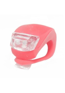 Frog Type LED Silicone Bicycle Tail Light / Rear Lamp (Red)