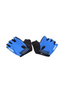 GIANT Half Finger Cycling Glove Bicycle (Blue) - Size L