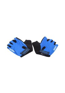GIANT Half Finger Cycling Glove Bicycle (Blue) - Size XL