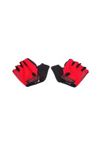 GIANT Half Finger Cycling Glove Bicycle (Red) - Size M