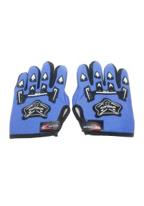Cycling Glove Bicycle Protect - Full Finger (Blue)